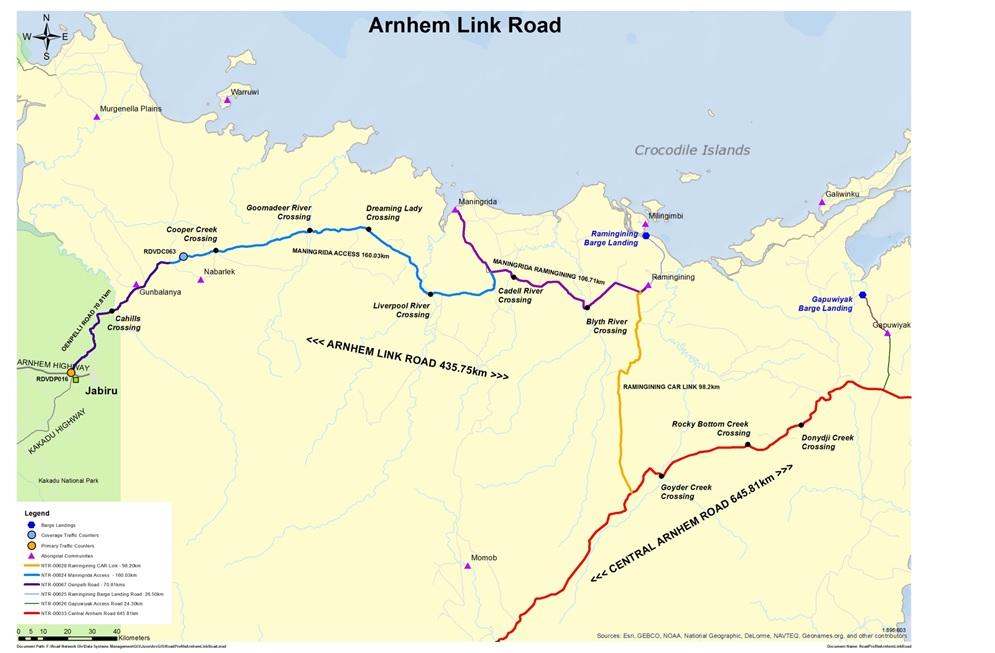 $16 million for Arnhem Transport Infrastructure Project