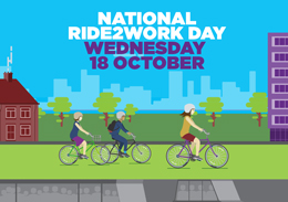 National Ride to Work Day - Wednesday 18th October 2017