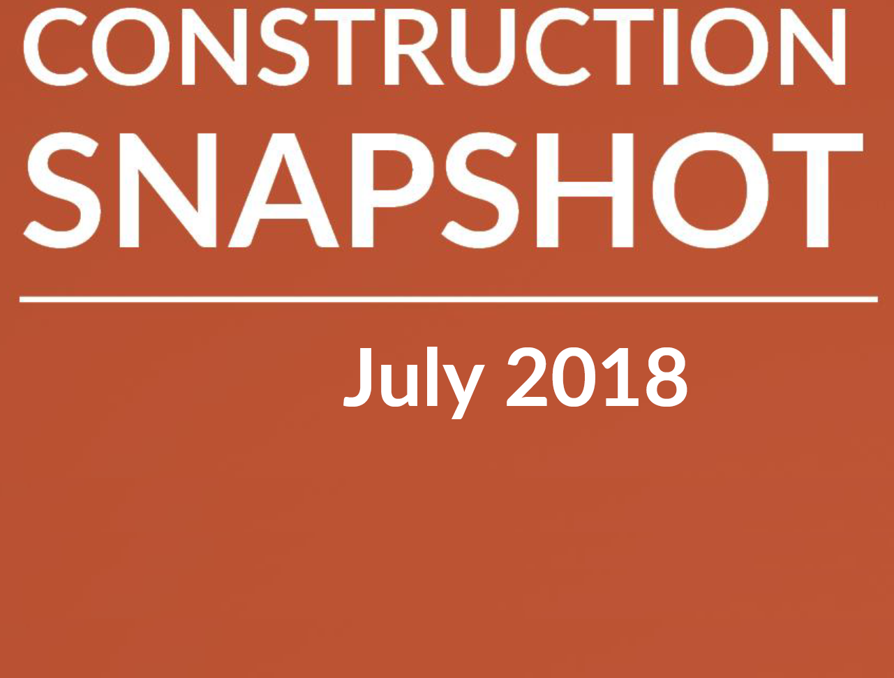Latest Edition: Construction Snapshot