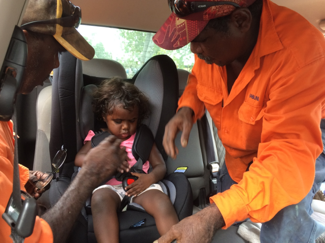 NT's Indigenous 'Car Seat for Kids' Program Wins Australasia's Premier Road Safety Award