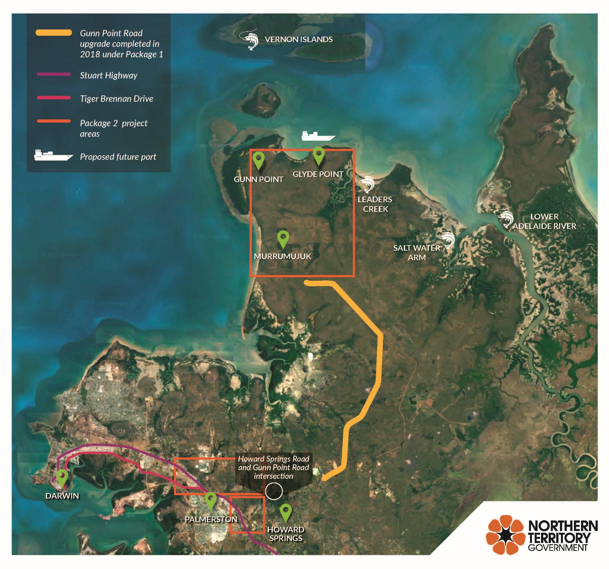 Gunn Point Overview Map