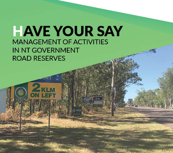 Have your say on road reserves