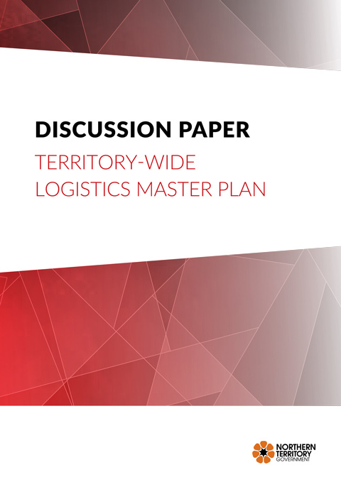 Discussion paper - Territory wide logistics master plan front cover